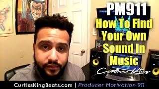 How To Find Your Sound As A Music Producer