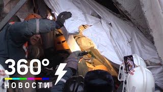 Ребёнка достали живым из-под завалов дома в Магнитогорске