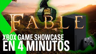 XBOX GAME SHOWCASE en 4 MINUTOS: TODOS LOS JUEGOS que llegarán a XBOX SERIES X