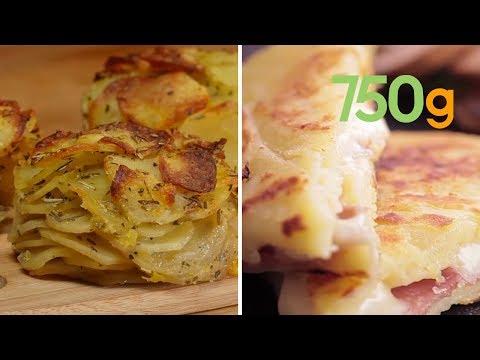 , title : '6 recettes gourmandes à la pomme de terre - 750g