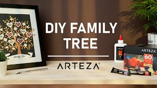 How To Make Your Own Family Tree (Easy DIY Tutorial)