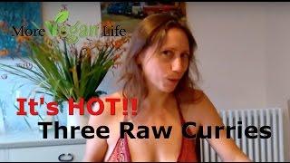 Raw Vegan Curry: Kale Curry And Raw Biryani