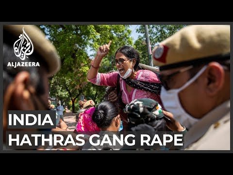 India: Protesters clash with police after rape victim's cremation