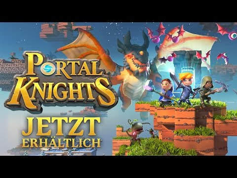 Portal Knights | Launch Trailer | Steam | Deutsch