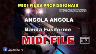 ♬ Midi File    ANGOLA ANGOLA   Banda Fusiforme