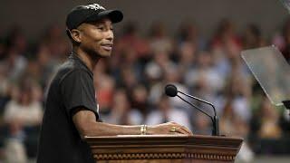 Pharrell Williams Addresses UVA's Class Of 2019