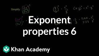 Exponent Properties 6