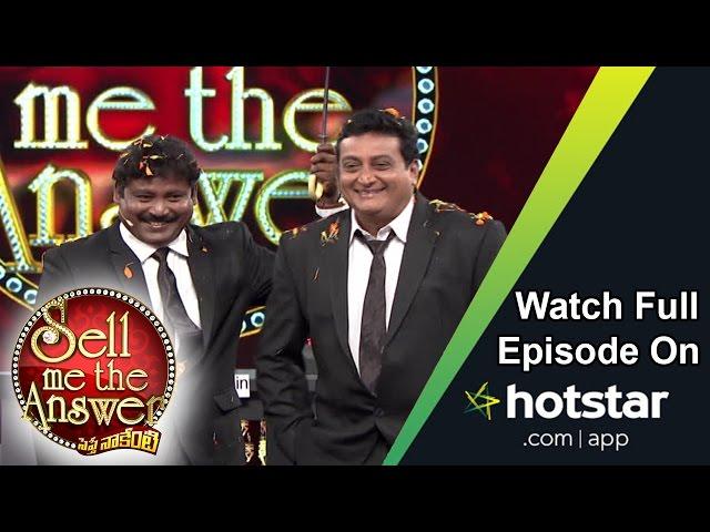 Prithviraj & Srinu at Sell Me The Answer – 04 September 2016 – Full Episode