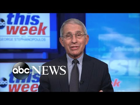 Can't see a sudden 'relaxation' of COVID restrictions by Christmas: Fauci | ABC News