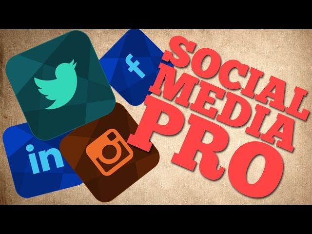 6 Tricks To Be A Social Media Pro
