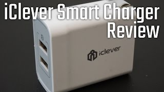 iClever BoostCube 4.8A 24W Dual USB Wall Charger with SmartID Technology - Review and unboxing