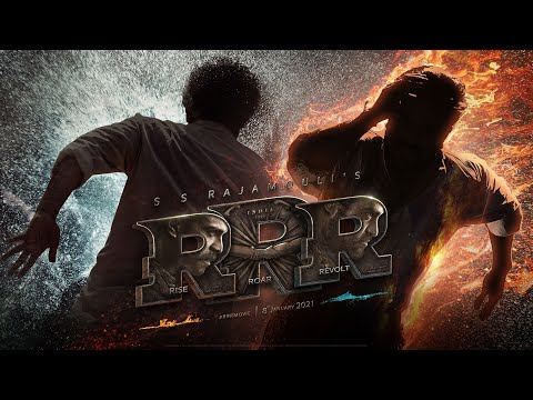 RRR Movie Motion Poster