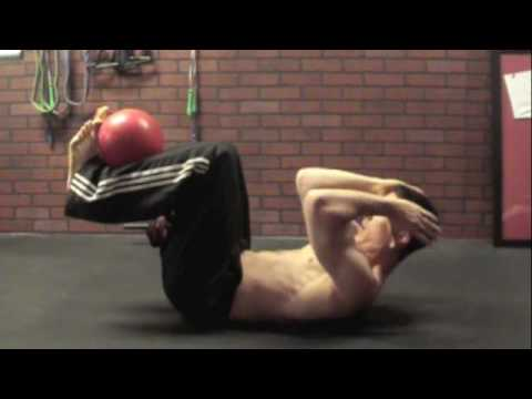 Video Medicine Ball Home Workout - AthLEAN X