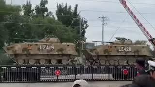 Новинки предстоящего военного парада в честь 70 летия образования КНР