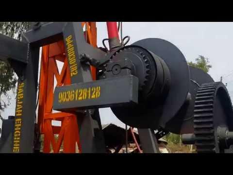 hydraulic bore well  pump lifting machine 9036128128