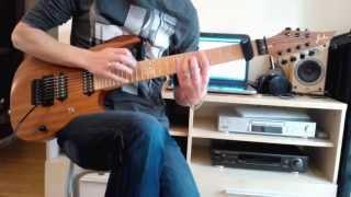 Video Preternatural - Perception (guitar playthrough)