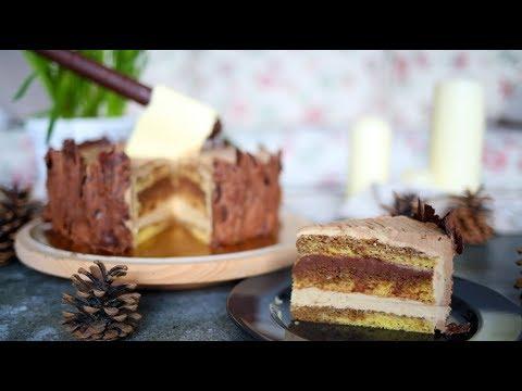 Tort opera (tort czekoladowo-kawowy), dla drwala 🌲🌲😆