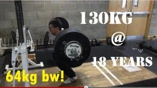 130KG ATG Squat @67KG