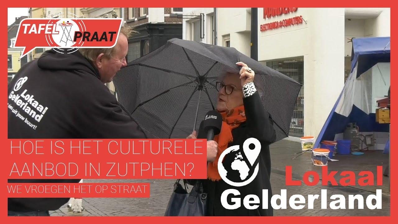 Hoe is het culturele aanbod in Zutphen?