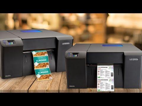 Demogerät: Primera LX2000e Farbetikettendrucker mit Netzwerkanschluß, kaum gebraucht