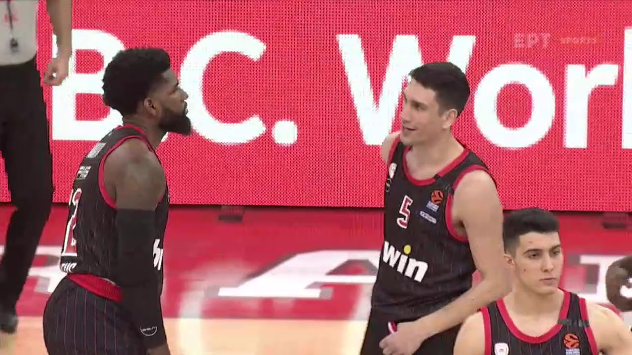 Αγώνας μπάσκετ – Φιλικός αγώνας: Ολυμπιακός – Λάρισα | 08/02/2021 | ΕΡΤ