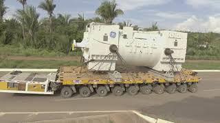 Maior Transporte Especial realizado no Brasil