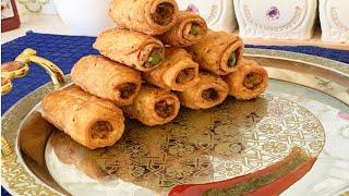 Potato Roll Samosa   Aloo Samosa Recipe   Easy Potato Snacks Recipe