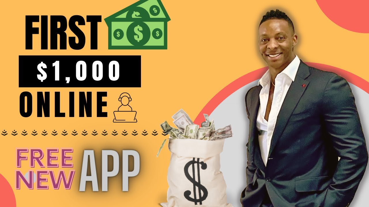 Make Your First $1,000 Online Using This App|Earn Money Online|Make Money Online thumbnail