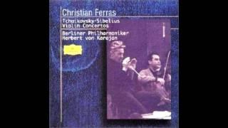 Sibelius - Violin Concerto  D Minor  Op.47 Karajan  Berlin Philharmonic 1964