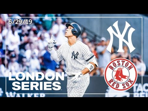 New York Yankees Vs. Boston Red Sox | Game Highlights | London Series Game 1