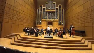 Mozart Divertimento in F major, K 138, III movement, Presto