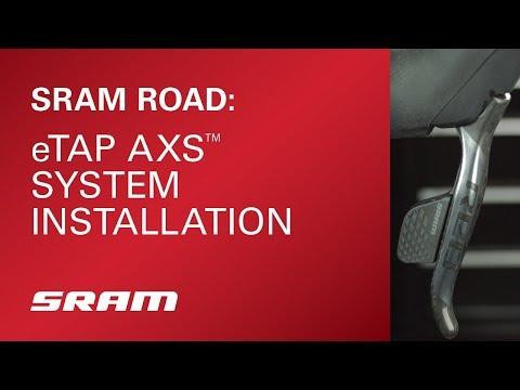 SRAM eTap AXS System Installation