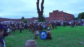 Legends of the Norwegian Vikings. Saint Petersburg. Легенды норвежских викингов - 2016. Radodar TV.
