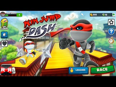 NinJump Dash (By Backflip Studios) - iOS - iPhone/iPad/iPod Touch Gameplay