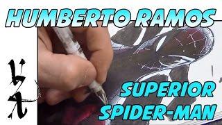 Humberto Ramos Drawing Superior Spider-Man
