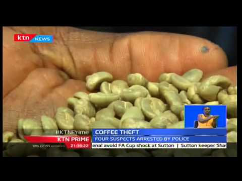 400 bags of allegedly stolen coffee seized in Juja, Kiambu County