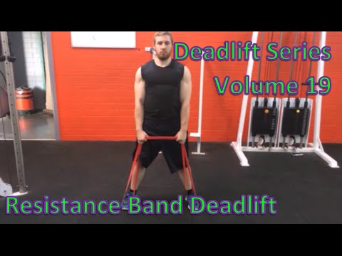 Deadlift Series Volume 19: Resistance Band Deadlift