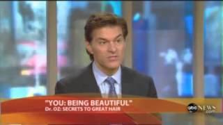 Dr Oz: Hair loss, Hair growth, Biotin