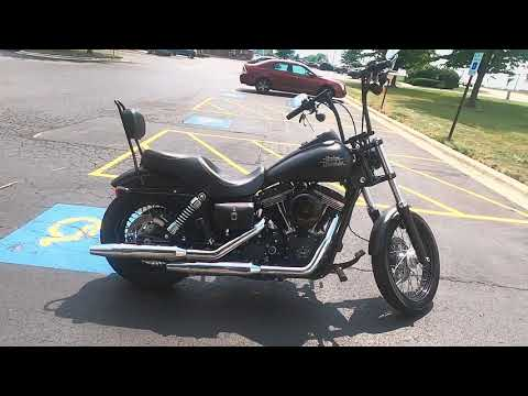 2014 Harley-Davidson Dyna Street Bob FXDBP 103