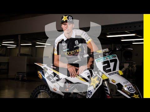 Rockstar Energy Husqvarna Factory Racing sign Arminas Jasikonis  | Husqvarna Motorcycles