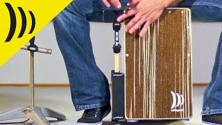 Schlagwerk HP75 plaque d'extension Split Hand pour Heck Stick - Video