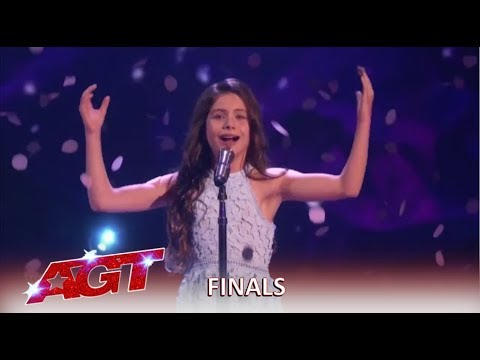Emanne Beasha: 10-Year-Old With SHOCKING Voice Final Performance! | America's Got Talent 2019