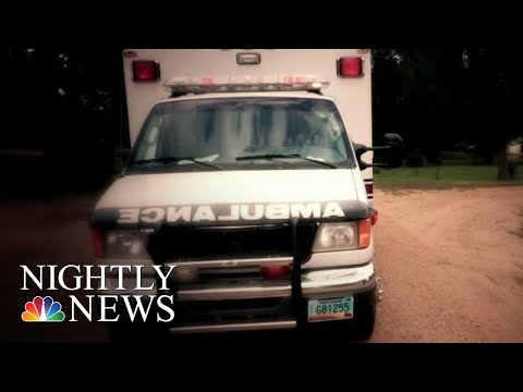 Critical Shortage Of 911 Volunteer EMS Workers In Rural America | NBC Nightly News