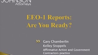 EEO-1 Reports: Are You Ready?