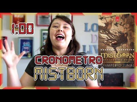 Cronômetro: Mistborn -  O Império final | Louca dos livros 2018