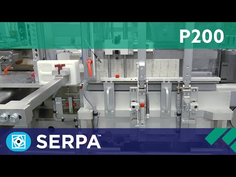 P200 Side Load Case Packer running bundles – Serpa Packaging Solutions