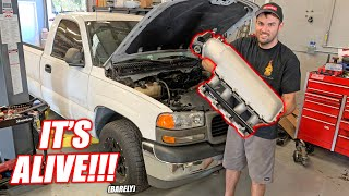 """James' Burnout Truck """"White Trash"""" COMES TO LIFE!!! (Well Sorta...)"""