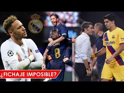 ¿NEYMAR IMPOSIBLE para el MADRID? | REAL MADRID GANO | SUAREZ LESIONADO ¿Cuánto TIEMPO?