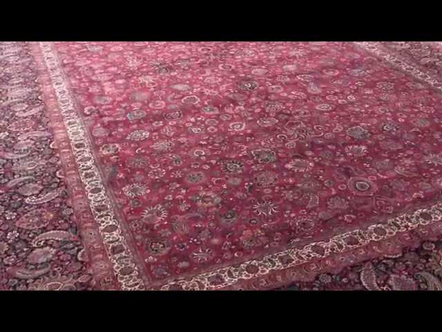 World NO:1 King size antique persian carppet made by Saber