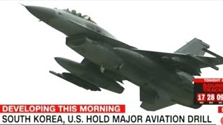 US Holds Joint WAR GAMES With South Korea In Massive Display Of Military Might!